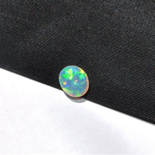 Natural solid Lightning Ridge crystal opal loose 1.58ct
