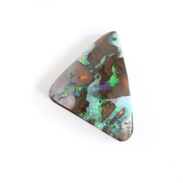 Natural solid boulder opal loose stones13.70ct