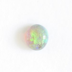0.81CT BLACK CRYSTAL OPAL NATURAL SOLID LOOSE LIGHTNING RIDGE AUSTRALIA CABOCHON