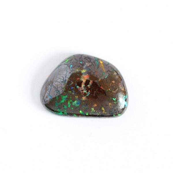 Natural solid boulder opal loose stone 2.96ct