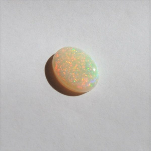 Natural solid white / light opal loose stone3.07ct
