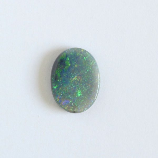 Natural solid semi black opal loose stone 1.86ct