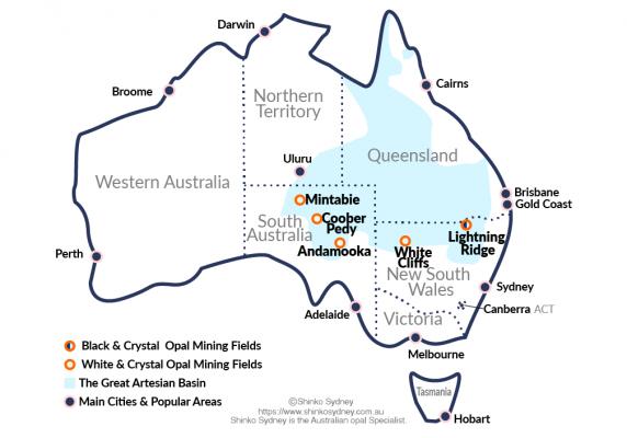 Australian Crystal Opal Mining Fields